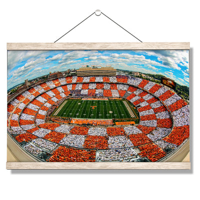 Checkerboard Neyland - College Wall Art #Hanging Canvas