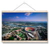 Tennessee Volunteers - Aerial Neyland on the Tennessee River - College Wall Art #Hanging Canvas