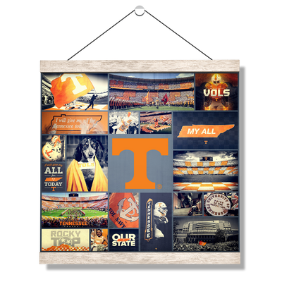 Tennessee Volunteers - Football Traditions - College Wall Art #Hanging Canvas