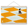 Tennessee Volunteers - Checkerboard Smokey - College Wall Art #Hanging Canvas