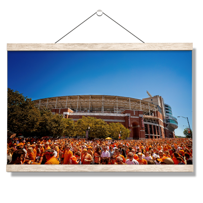 Tennessee Volunteers - Orange Swarm - College Wall Art #Hanging Canvas