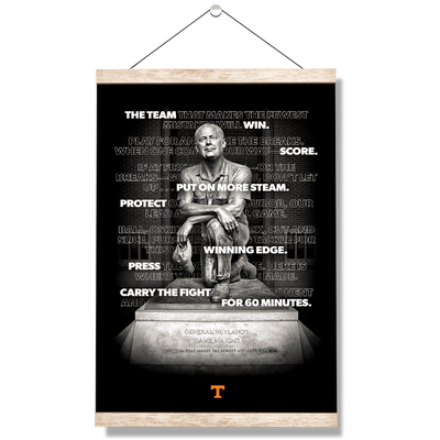 Tennessee Volunteers - Game Maxims - College Wall Art #Hanging Canvas