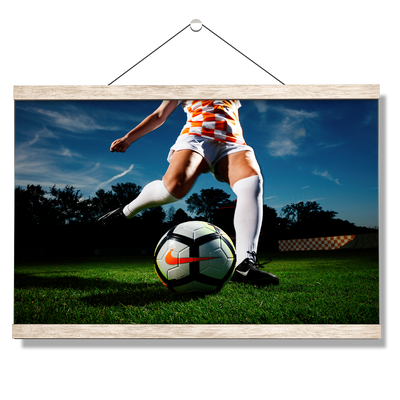 Tennessee Volunteers - Tennessee Soccer - College Wall Art #Hanging Canvas