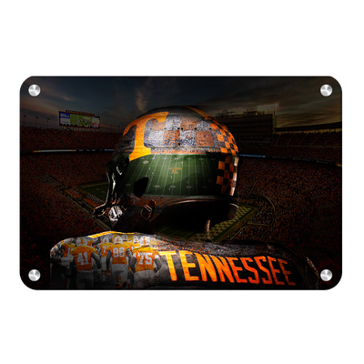Tennessee Volunteers - TN Football - College Wall Art #Metal
