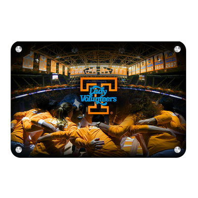 Tennessee Volunteers - Lady Vols - College Wall Art #Metal