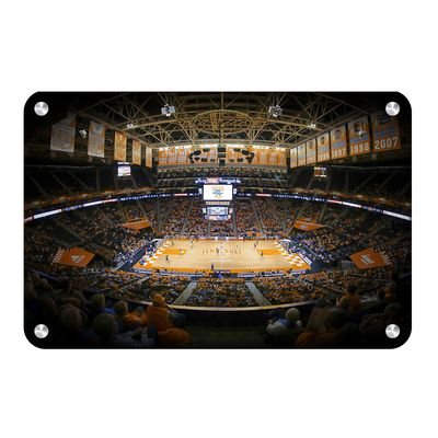 Tennessee Volunteers - Lady Vols Thompson-Boling - College Wall Art #Metal