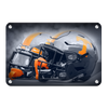 Tennessee Volunteers - Smokey Gray Helmets - College Wall Art #Metal