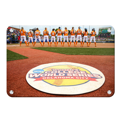 Tennessee Volunteers - WCWS - College Wall Art #Metal