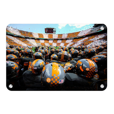 Tennessee Volunteers - Running onto the Field TN - College Wall Art #Metal