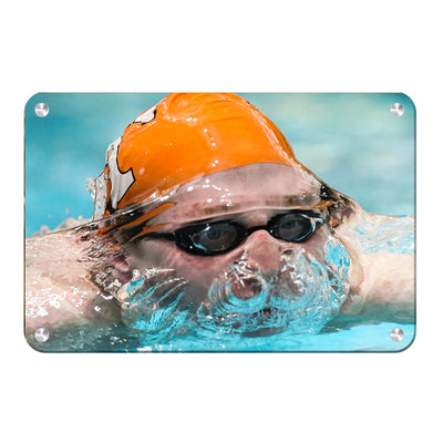 Tennessee Volunteers - Swim - College Wall Art #Metal