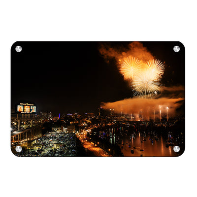 Tennessee Volunteers - Booms Day - College Wall Art #Metal
