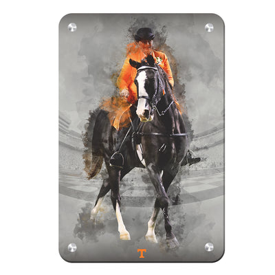 Tennessee Volunteers - TN Walking Horse - College Wall Art #Metal