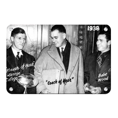 Tennessee Volunteers - Vintage Coach of the Year 1938 - College Wall Art #Metal
