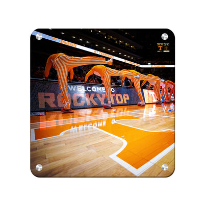 Tennessee Volunteers - Welcome to Rocky Top Basketball - College Wall Art #Metal