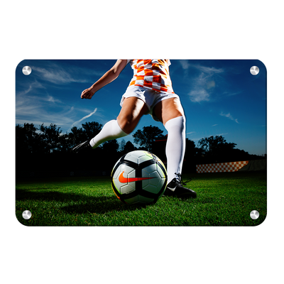 Tennessee Volunteers - Tennessee Soccer - College Wall Art #Metal