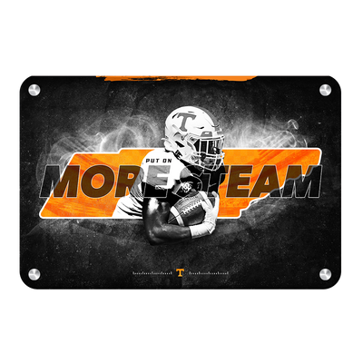 Tennessee Volunteers - More Steam - College Wall Art #Metal