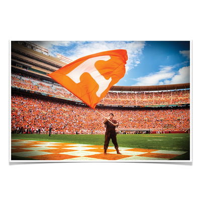 Tennessee Volunteers - Volunteer - College Wall Art #Poster