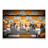 Tennessee Volunteers - Running Onto the Checkerboard Field - College Wall Art #Poster