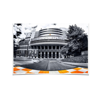 Tennessee Volunteers - Neyland B&W - College Wall Art #Poster
