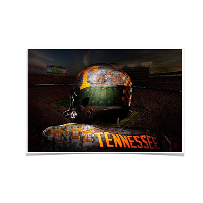 Tennessee Volunteers - TN Football - College Wall Art #Poster