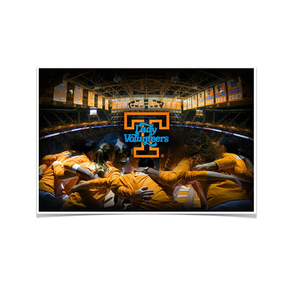 Tennessee Volunteers - Lady Vols - College Wall Art #Poster