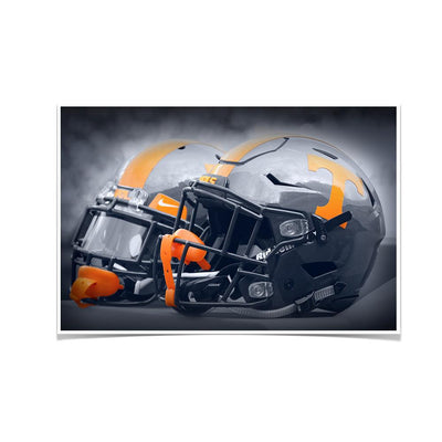 Tennessee Volunteers - Smokey Gray Helmets - College Wall Art #Poster