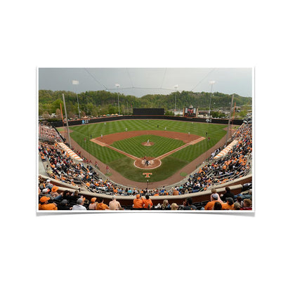 Tennessee Volunteers - UT Baseball - College Wall Art #Poster