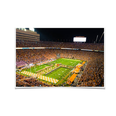 Tennessee Volunteers - Running Through the T 2015 - College Wall Art #Poster