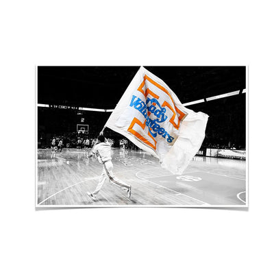Tennessee Volunteers - Lady V-O-L-U-N-T-E-E-R - College Wall Art #Poster