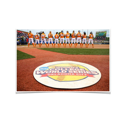 Tennessee Volunteers - WCWS - College Wall Art #Poster