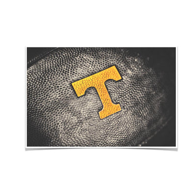 Tennessee Volunteers - Power T Football - College Wall Art #Poster