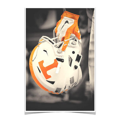 Tennessee Volunteers - Ready for Battle Smokey Orange - College Wall Art #Poster