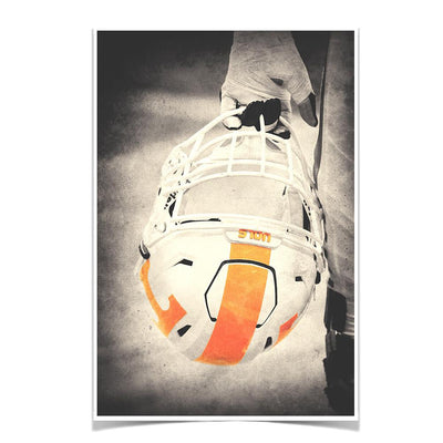 Tennessee Volunteers - Warrior Smokey Orange - College Wall Art #Poster
