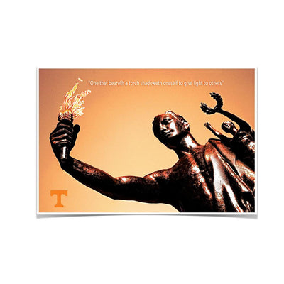 Tennessee Volunteers - Torchbearer 2 - College Wall Art #Poster