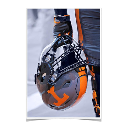 Tennessee Volunteers - Smokey Helmet - College Wall Art #Poster