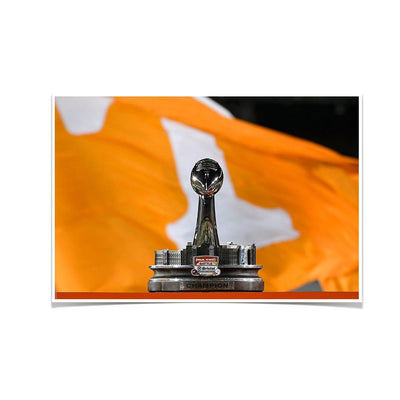 Tennessee Volunteers - BaB Trophy - College Wall Art #Poster