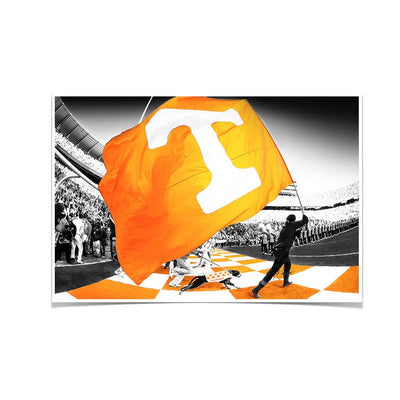 Tennessee Volunteers - Tennessee Pride - College Wall Art #Poster