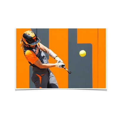 Tennessee Volunteers - Batting Practice - College Wall Art #Poster