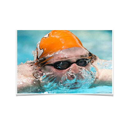 Tennessee Volunteers - Swim - College Wall Art #Poster