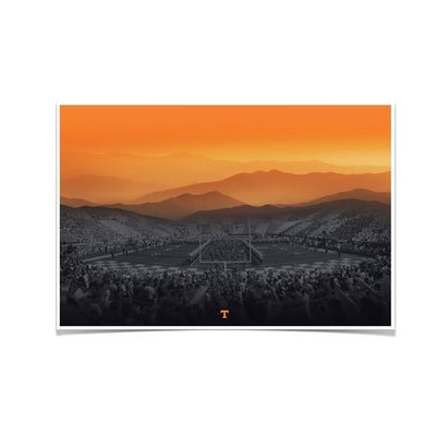 Tennessee Volunteers - Smokies Strong - College Wall Art #Poster