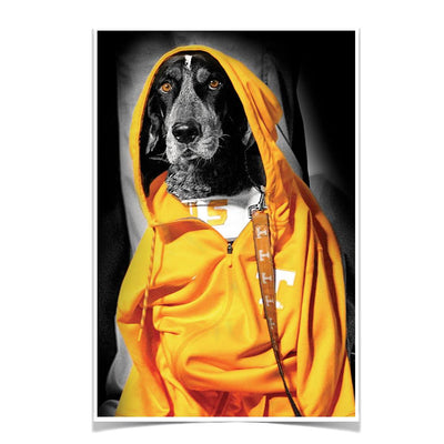 Tennessee Volunteers - Smokey Hood - College Wall Art #Poster