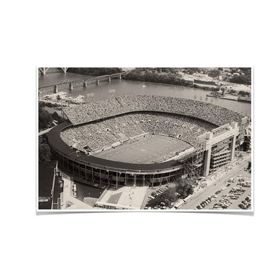 Tennessee Volunteers - Neyland Stadium 1970's - College Wall Art #Poster