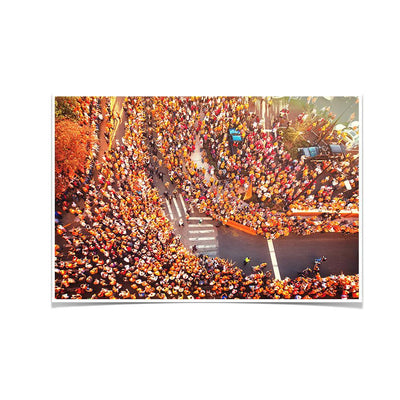 Tennessee Volunteers - Autumn Vol Walk - College Wall Art #Poster