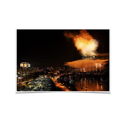 Tennessee Volunteers - Booms Day - College Wall Art #Poster