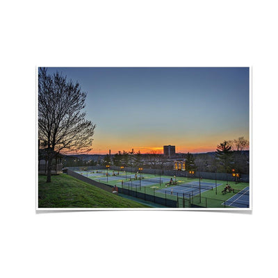 Tennessee Volunteers - Goodfriend Tennis Center - College Wall Art #Poster