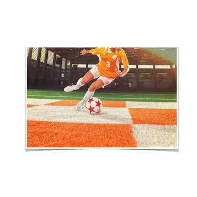 Tennessee Volunteers - Lady Vols Soccer - College Wall Art #Poster