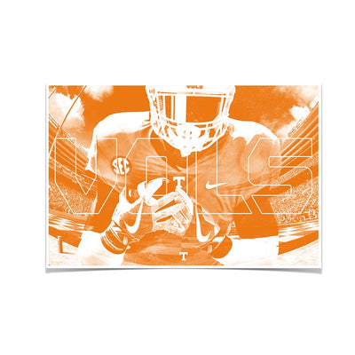 Tennessee Volunteers - Vol 2018 - College Wall Art #Poster