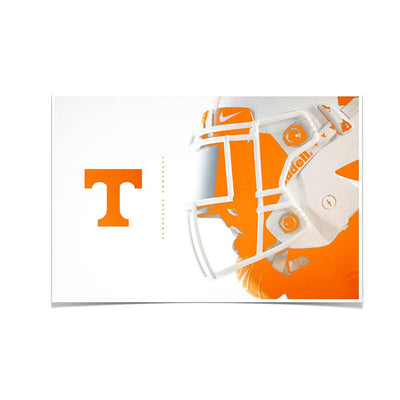 Tennessee Volunteers - Tennessee Football Wall Art - College Wall Art #Poster