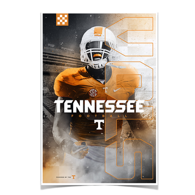 Tennessee Volunteers - Tennessee Fight - College Wall Art #Poster