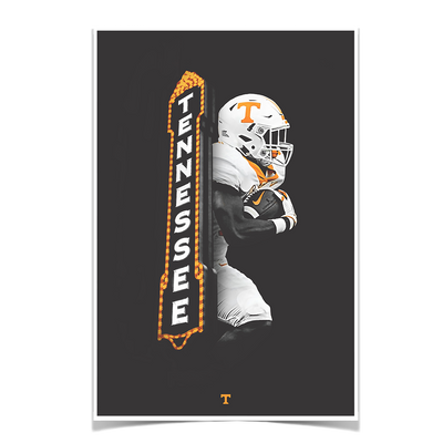 Tennessee Volunteers - Marquee Vol - College Wall Art #Poster